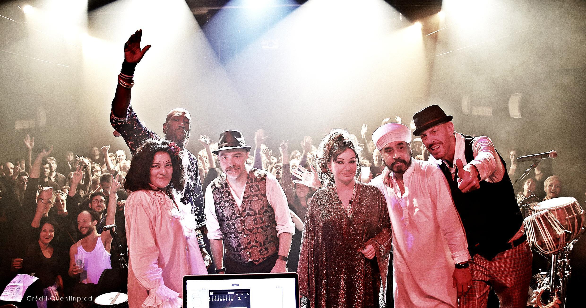 Transglobal Underground with Nathacha Atlas (c) at the Aventuriers festival on 13 December 2017