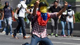 委內瑞拉首都加拉加斯反政府大遊行,2016年9月1號