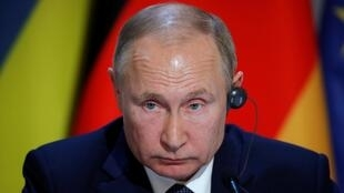 俄羅斯總統普京12月9日在法國巴黎