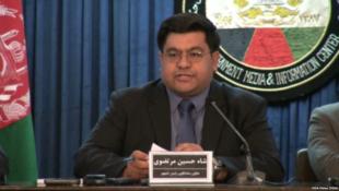 شاه حسین مرتضوی، سخنگوی دفتر ریاست جمهوری افغانستان