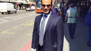 George Papadopoulos (photo non datée il se trouvait à Londres) vient d'être inculpé par la justice américaine dans l'enquête sur l'ingérence russe dans la campagne présidentielle de 2016.