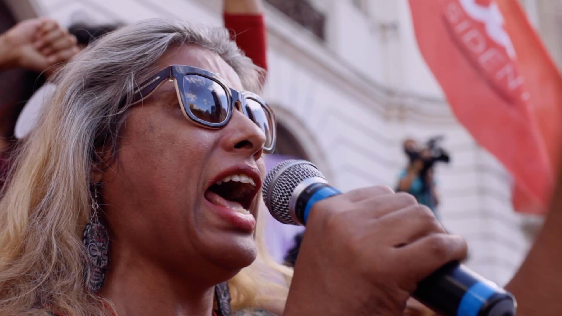 Indianara Siqueira, fundadora da Casa Nem e ativista dos direitos LGBTQI