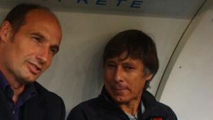 Philippe Redon (à droite), en 2007 à Rennes.