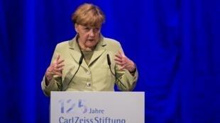 Ангела Меркель. Йена 19/05/2014