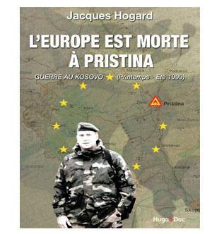 Livre « L'Europe est morte à Pristina »