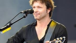 Bertrand Cantat performs with his band Detroit in July