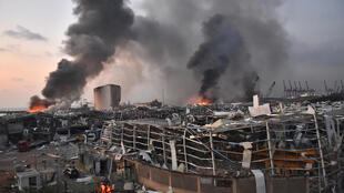 Two huge explosion rocked the Lebanese capital Beirut, killing scores and wounding thousands of people, shaking buildings and sending huge plumes of smoke billowing into the sky