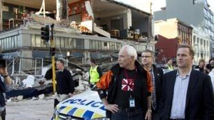 Động đất tại New Zealand ngày 4/9/2010
