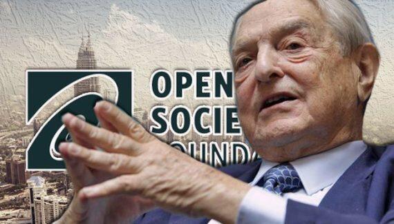 جورج سوروس، موسس بنیاد جامعه باز