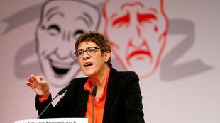 """""""آنه گرت گرامپ کارنباور"""" رئیس حزب دموکرات مسیحی آلمان"""