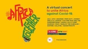 Un grand concert de deux jours a été organisé et diffusé sur les réseaux sociaux pour soutenir la lutte contre le Covid-19.