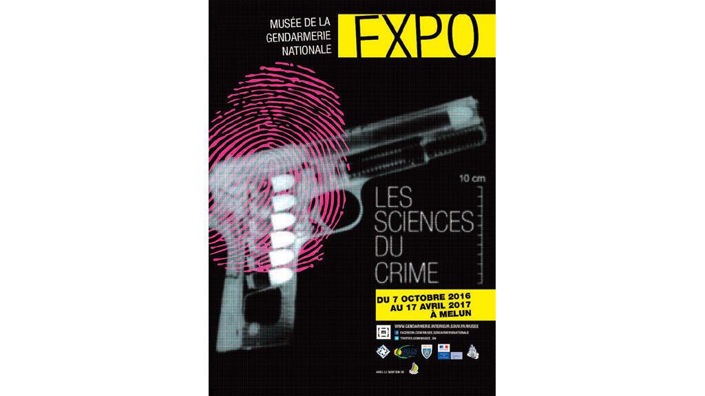 Affiche - Musée Gendarmerie nationale, expo 2016/2017.