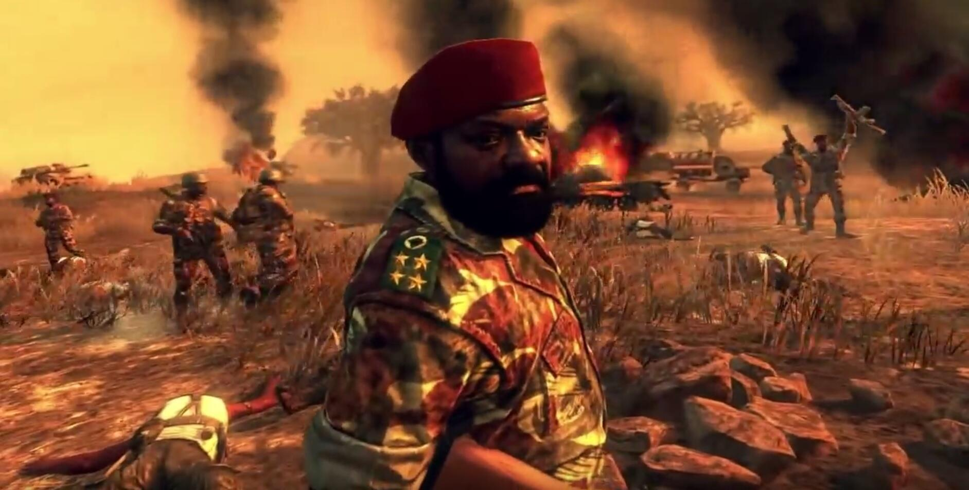 Savimbi's character in Call of Duty Black Ops II
