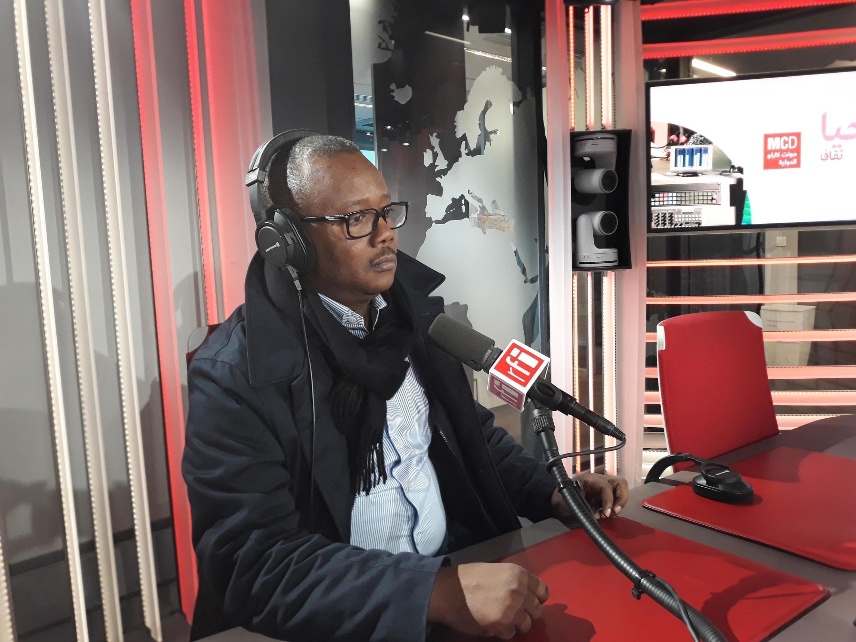 Umaro Sissoco Embaló, candidato do MADEMG-15 às presidenciais na Guiné-Bissau
