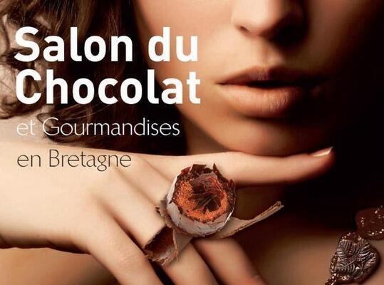 O Salão do Chocolate e das guloseimas, aconteceu neste fim de semana, 8-11/11, na  Bretanha, região oeste da França.