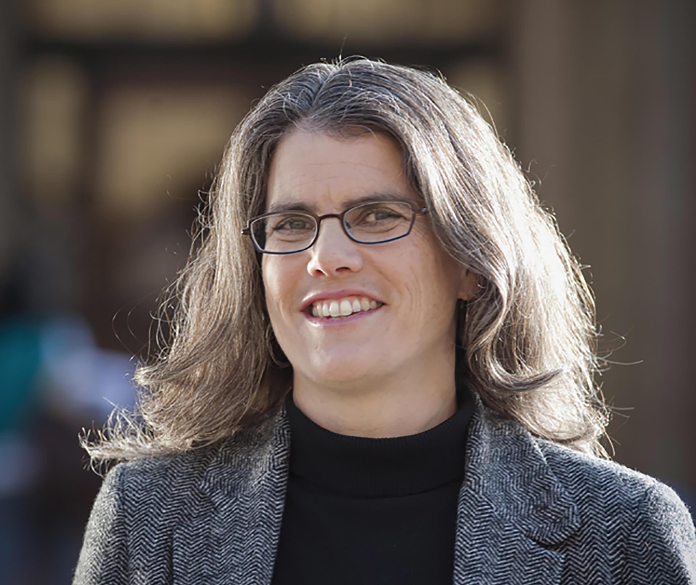 Andrea Ghez, ganadora del Nobel de Física 2020, en la Universidad de California