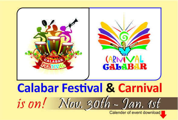 The Calabar carnival logos