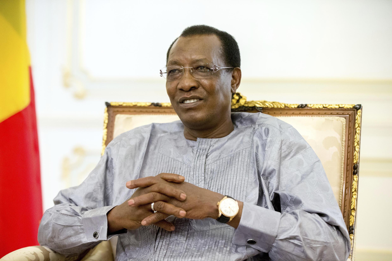 L'ancien président tchadien Idriss Déby Itno.