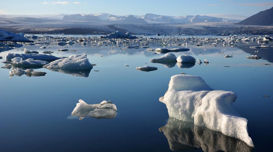冰川加速融化 氣候問題配圖