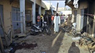 L'attaque s'est déroulée au marché Kanti Kwari au Nigéria, le plus important marché au tissu de la région, le 10 décembre 2014.