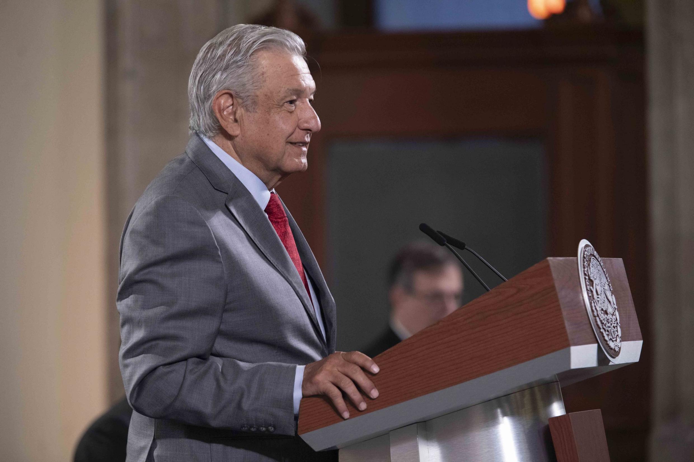 Le président mexicain Andrés Manuel Lopez Obrador à Mexico, le 22 octobre 2020.