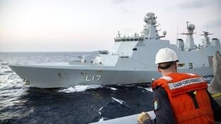 Le cargo danois qui devra transporter des armes chimiques syriennes.