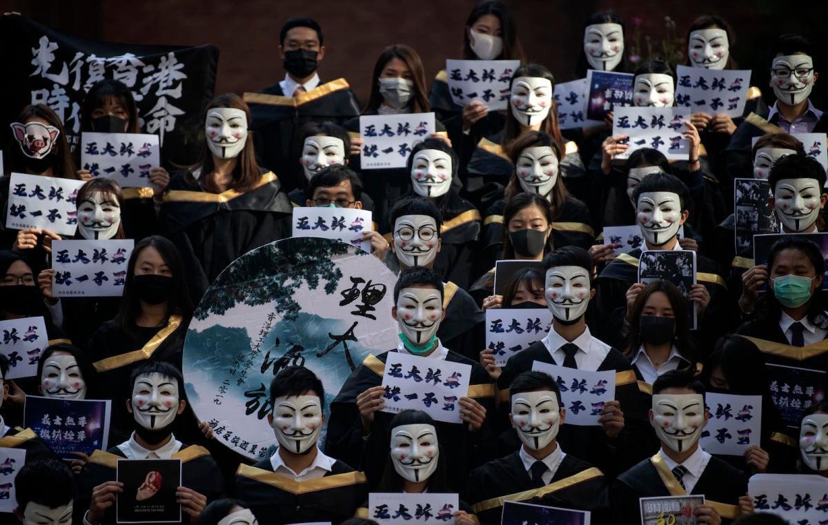 2019年部分香港理工大学毕业生资料图片