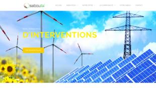 Capture d'écran du site Saboutech.