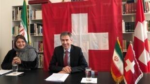 Markus Leitner, Ambassadeur Suisse en Iran