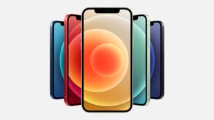 蘋果12新型手機廣告圖片