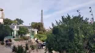 Дом-музей Оноре деБальзака находится врайоне Пасси, на правом берегу Сены