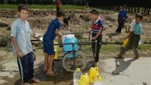 L'approvisionnement en eau potable est souvent problématique en Algérie.