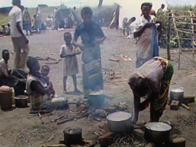 Populações carenciadas no interior de Moçambique
