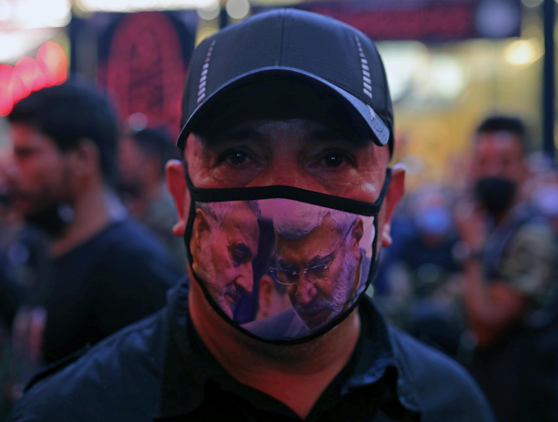 Soleimani Irak masque