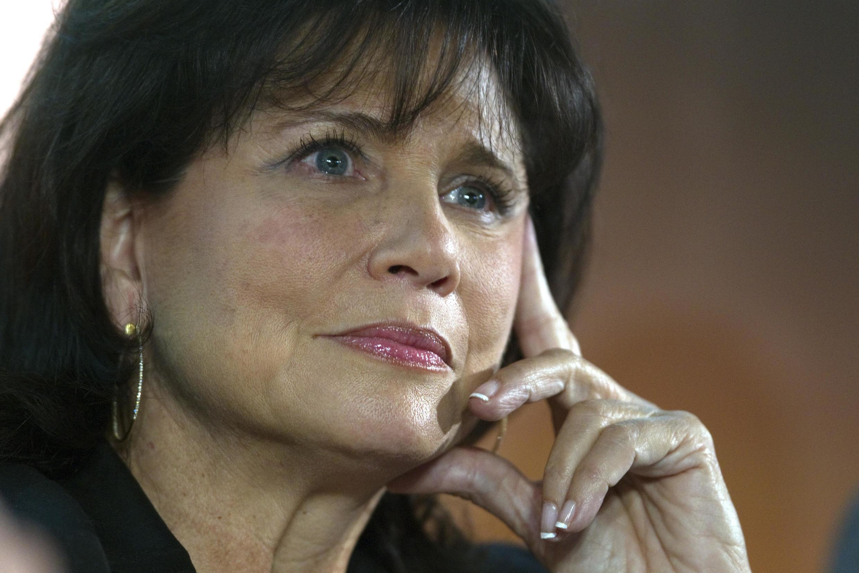 Anne Sinclair, director editorial de la versión francesa del diario estadounidense Huffington Post.