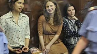 Pussy Riot乐队 07/08/2012接受审判