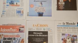 Diários franceses 02 02 2021