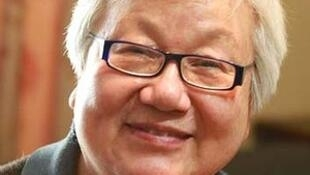 前中国国家体委国家队队医薛荫娴。