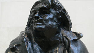 Detail from a Rodin sculpture of Honoré de Balzac in the Nasher Sculpture Center, Dallas.