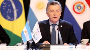 El presidente argentino Mauricio Macri busca atraer capitales extranjeros a Argentina.