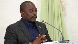 Joseph Kabila, chefe de Estado da RDC
