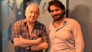 Claude Carrière et Tarek Kai.