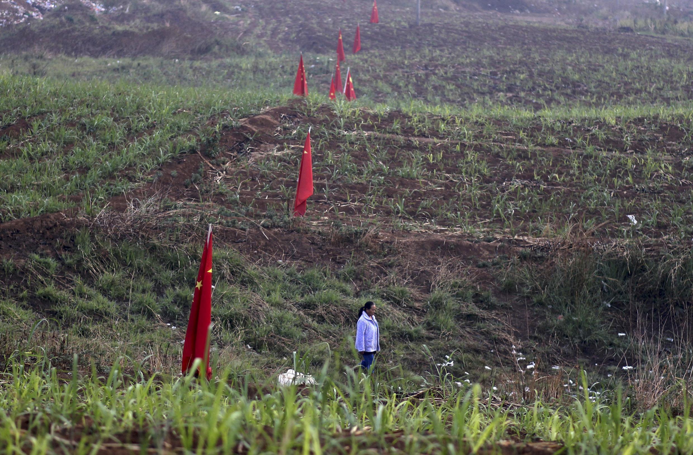 Chiến sự tại vùng Kokang đã khiến cư dân địa phương phải đi lánh nạn, ruộng đất bị bỏ hoang - REUTERS /Wong Campion
