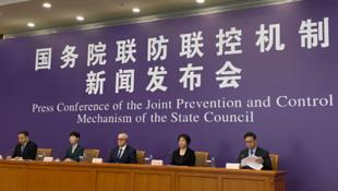 世卫组织驻华代表高力参加国务院联防联控机制新闻发布会资料图片