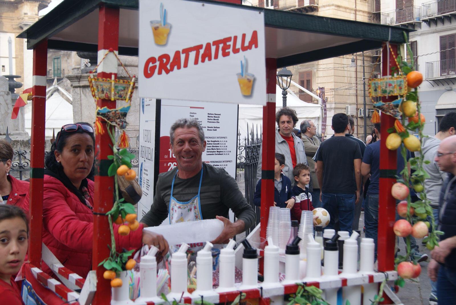 Le Festival de Street food à Palerme.