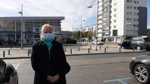 Anaïs Mantion, étudiante à Rouen, a vécu « une nuit d'horreur » après l'incendie de l'usine Lubrizol.