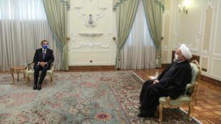 رافائل گروسی در تهران با حسن روحانی دیدار کرد