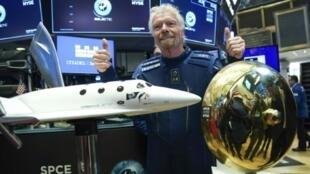 British billionaire Branson's groundbreaking flight would open the door for commercial trips to begin