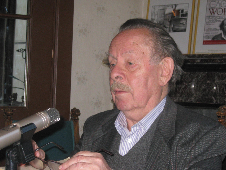 Генеральный директор журнала «Звезда» Яков Гордин