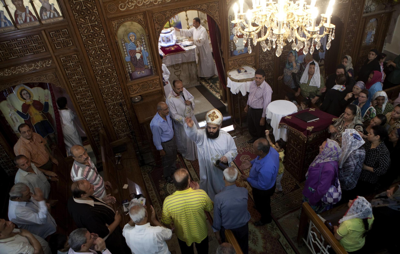 La communauté chrétienne copte représente 6 à 10% des plus de 80 millions d'Egyptiens.